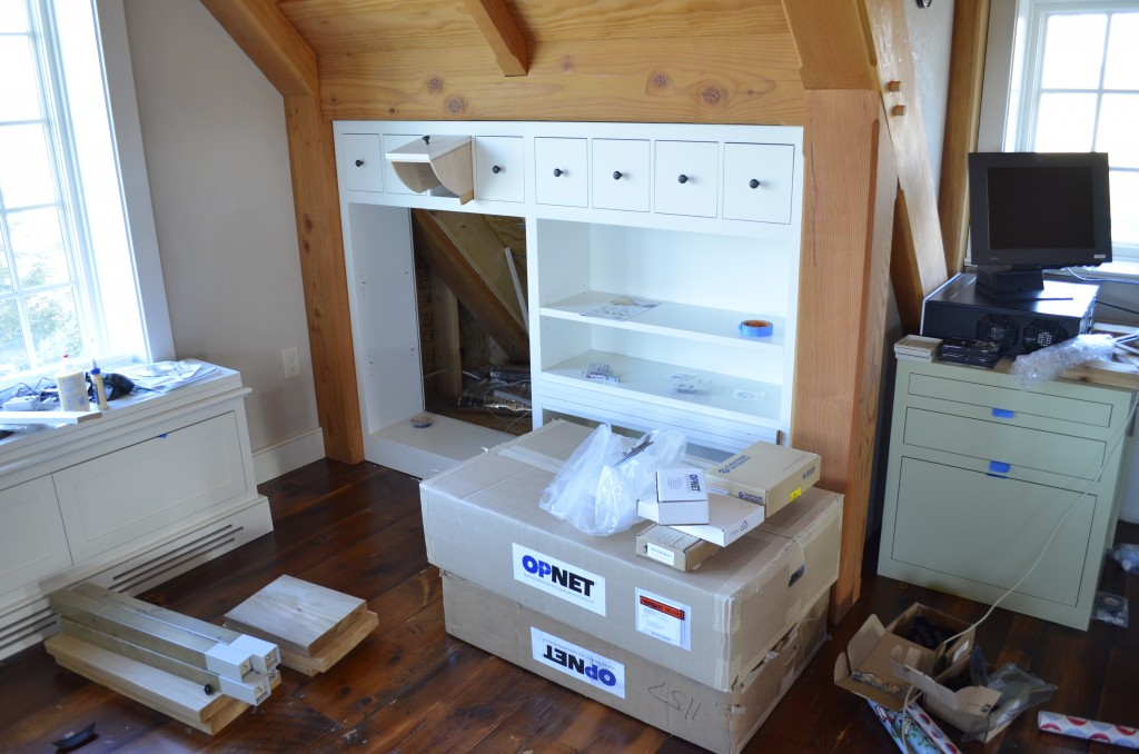 Knee Wall Built-ins